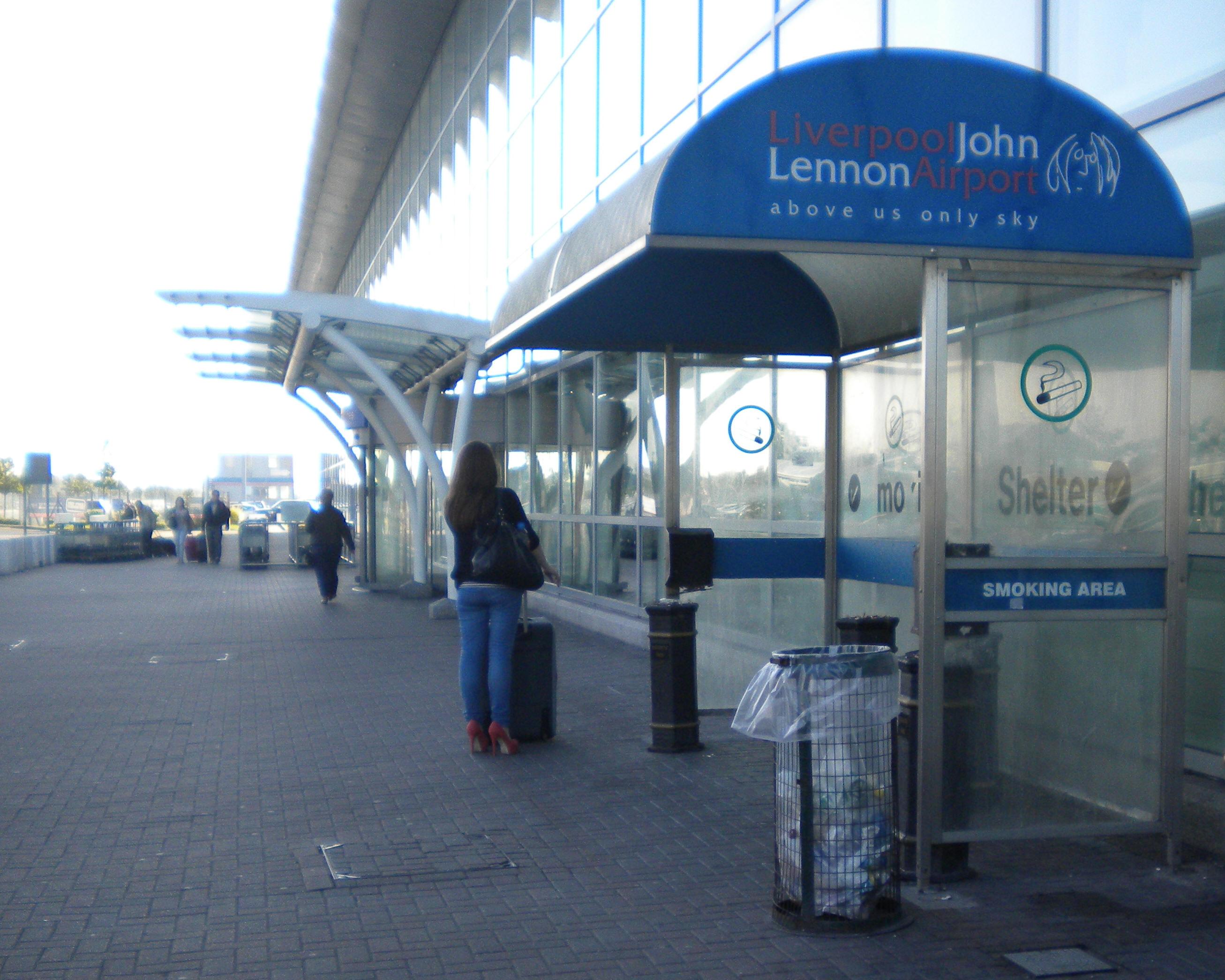 Smoking At Liverpool S John Lennon Airport Lpl